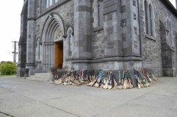 hurleys outside mass